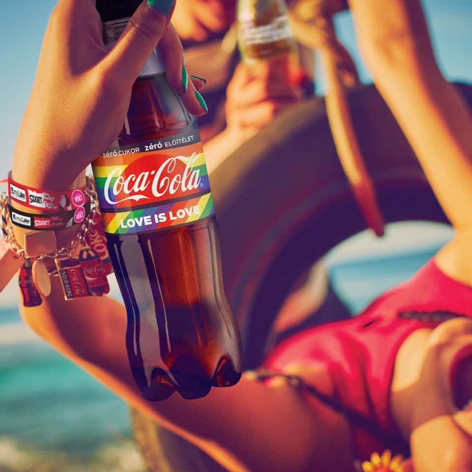 coca cola love is love