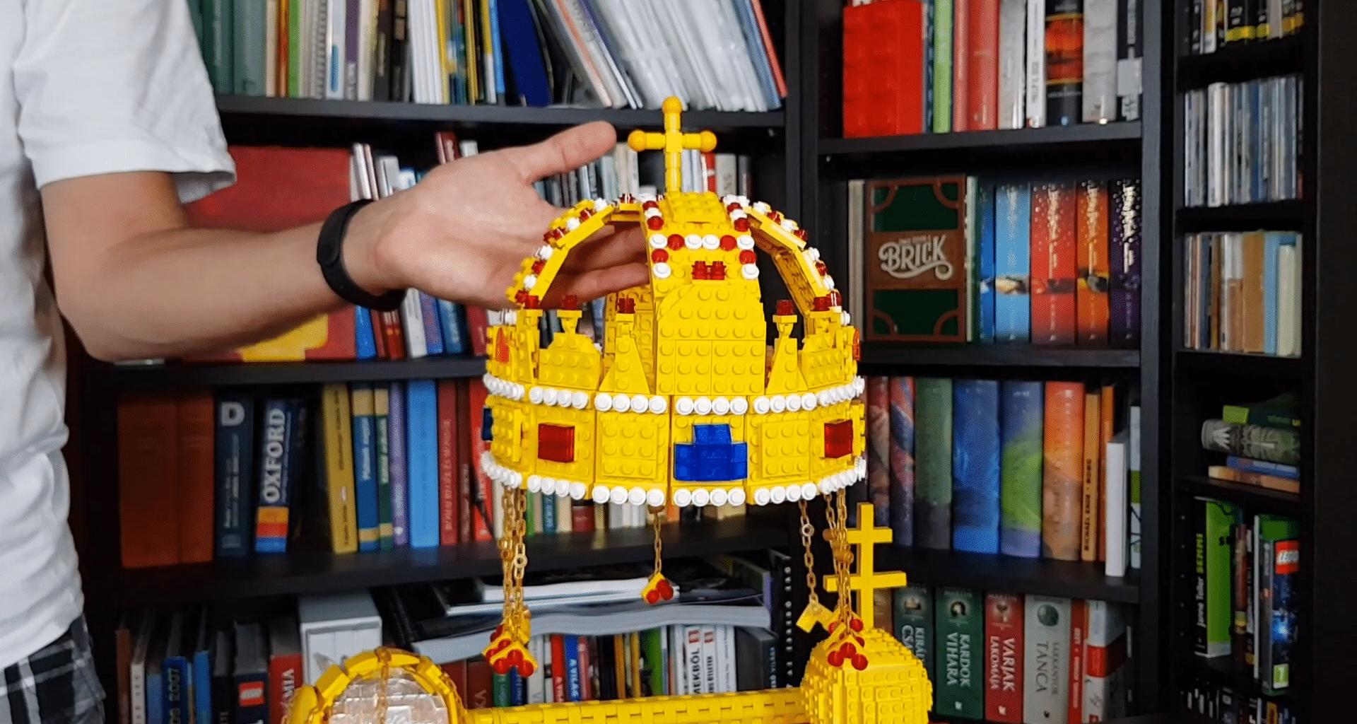 crown, Lego, Hungary