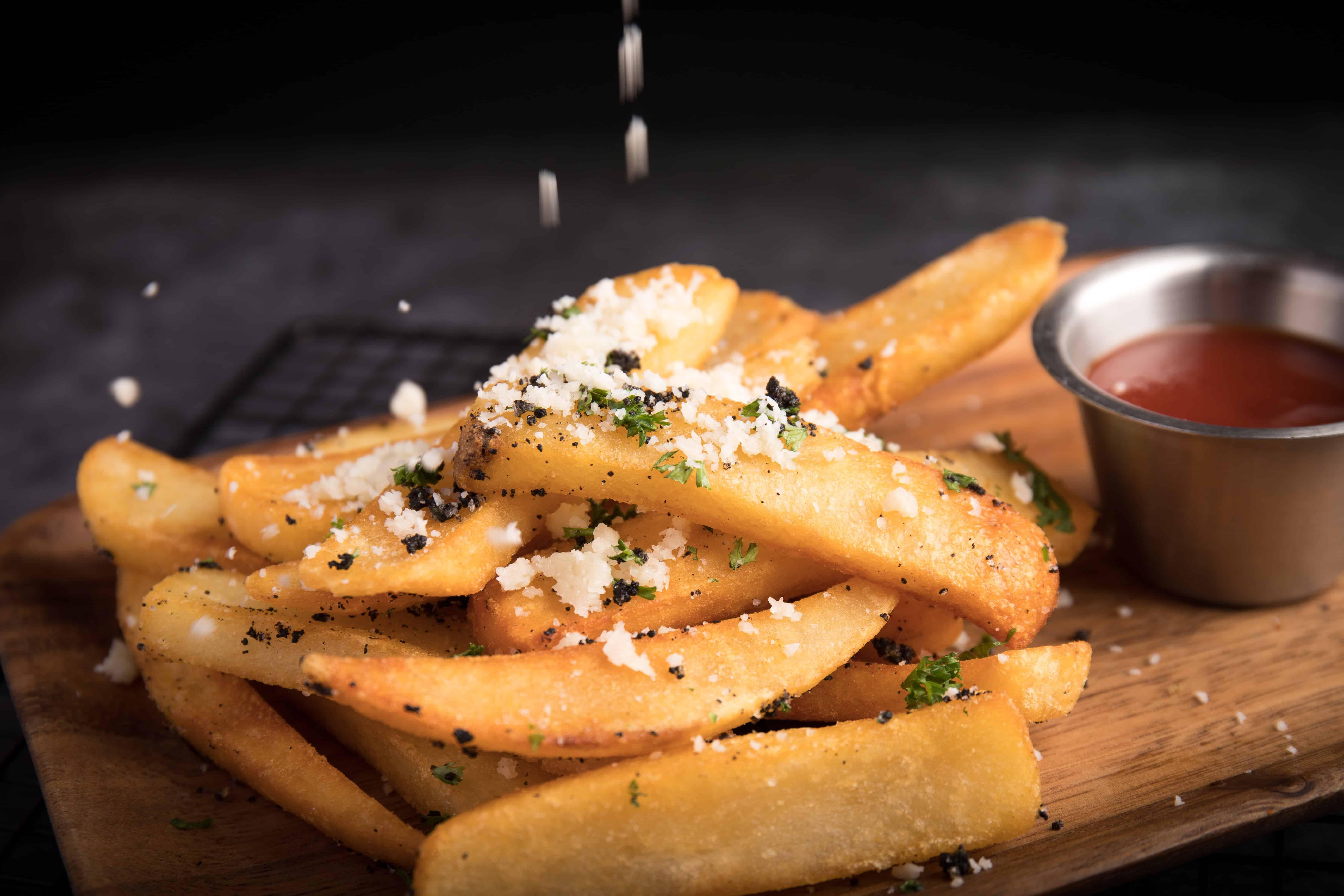 fries crisp food