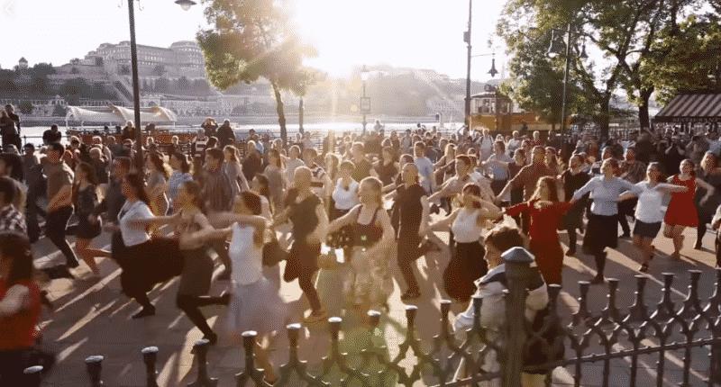 hungarian dance flashmob