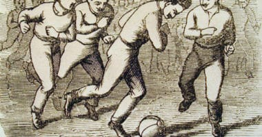 hungarian football depiction first