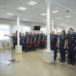 police units leave to balkans