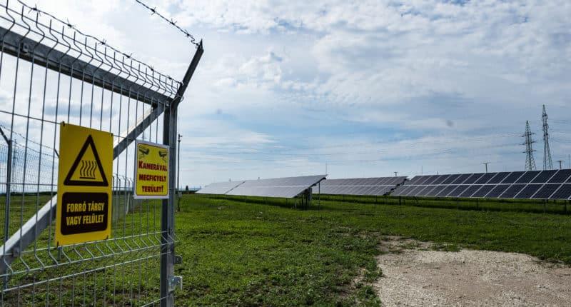 renewable energy solar panel park