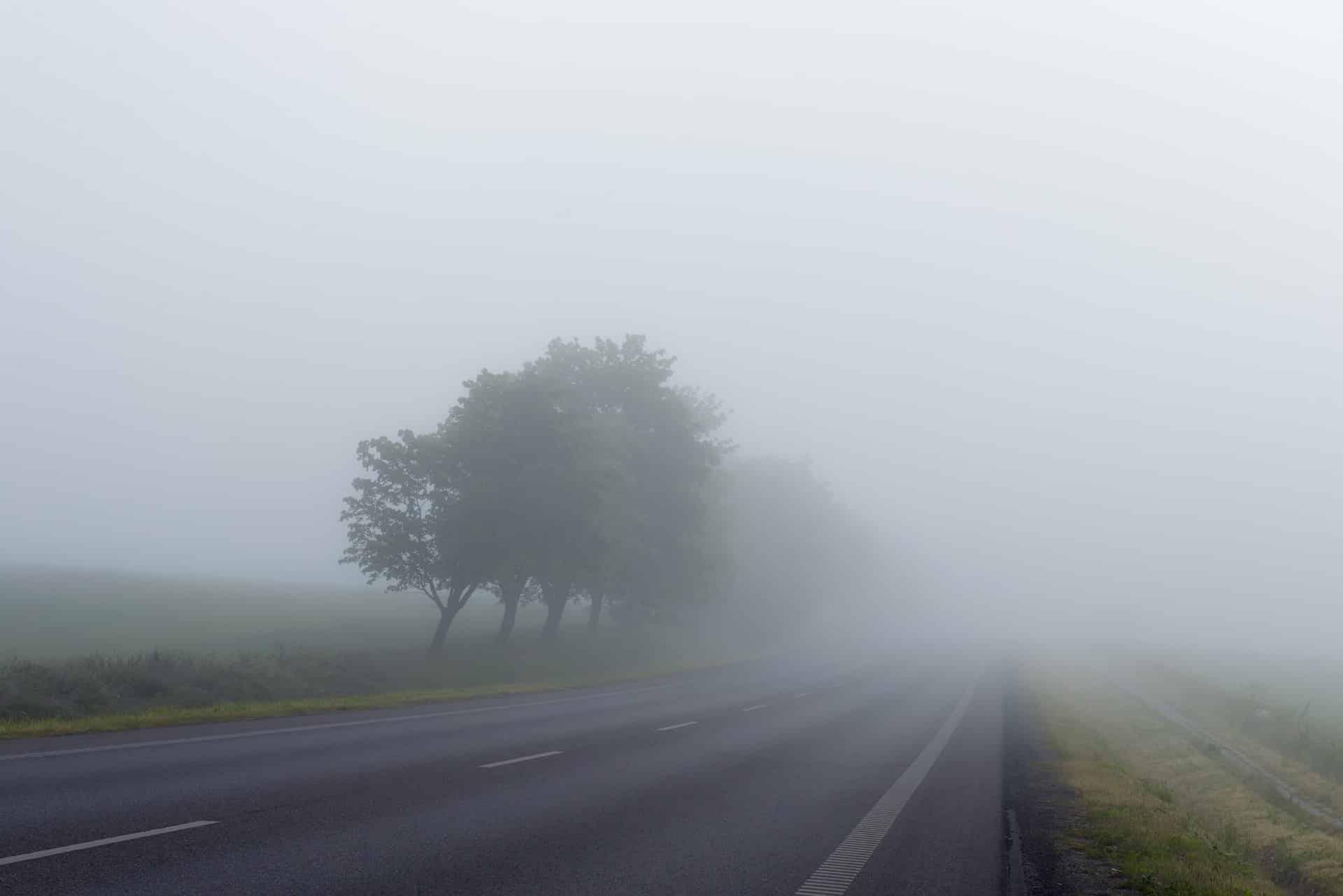road fog mist