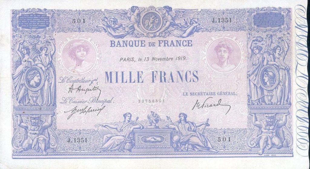 Hungary France money fogrery
