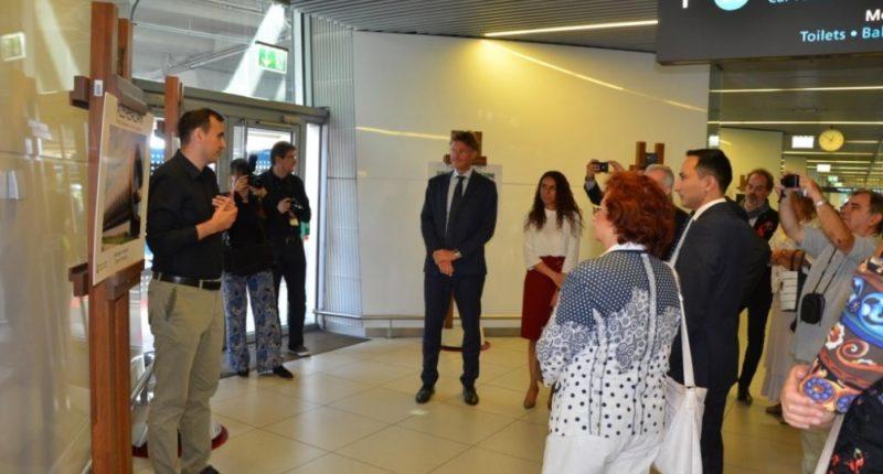 Azerbaijani exhibition Budapest Airport
