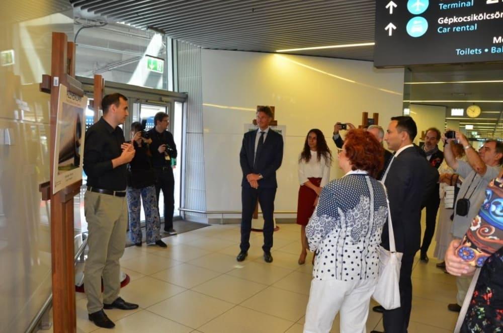 Budapest Airport hosts Azerbaijani photo exhibition
