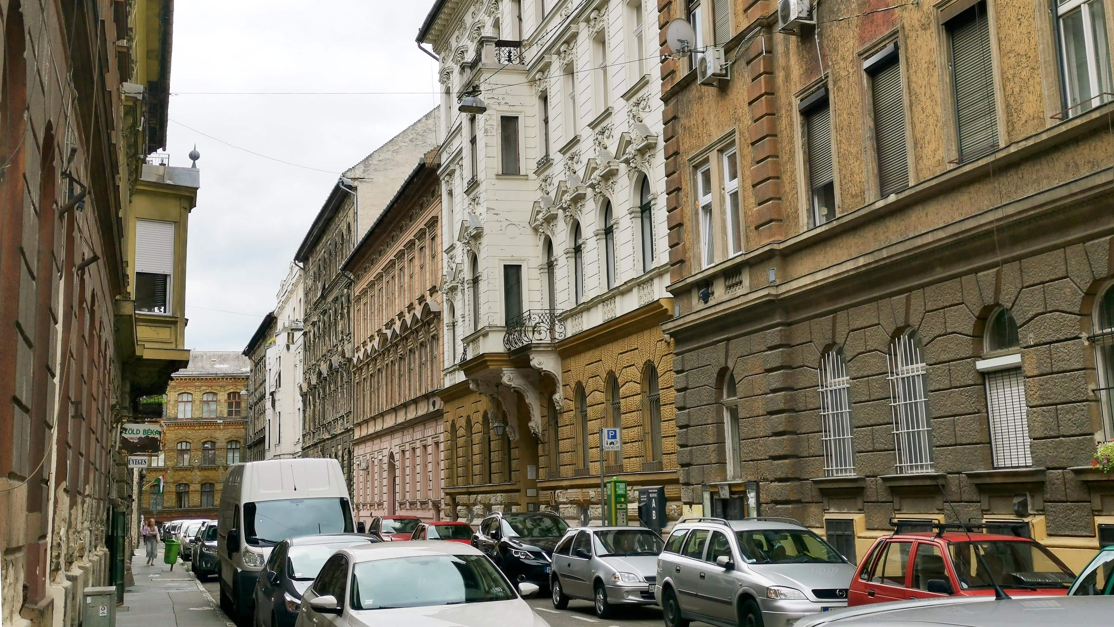 Here are the flat prices in the districts of Budapest