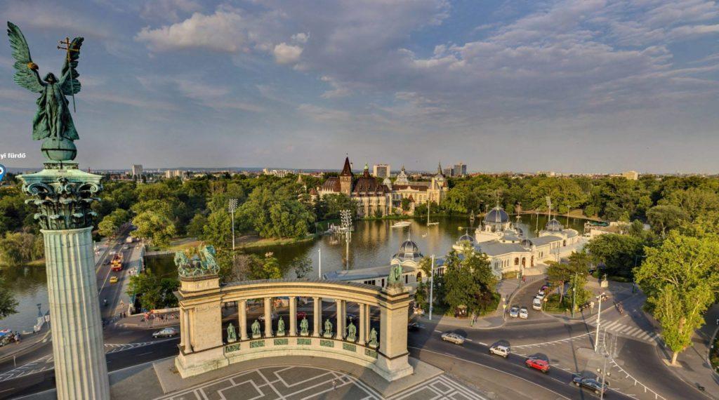 Budapest green spaces coronavirus