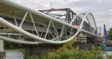 Tisza bike bridge