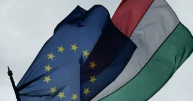 EU Hungary flag