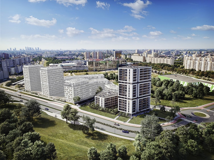 The largest property developer of Hungary launches new investment in Warsaw - PHOTOS