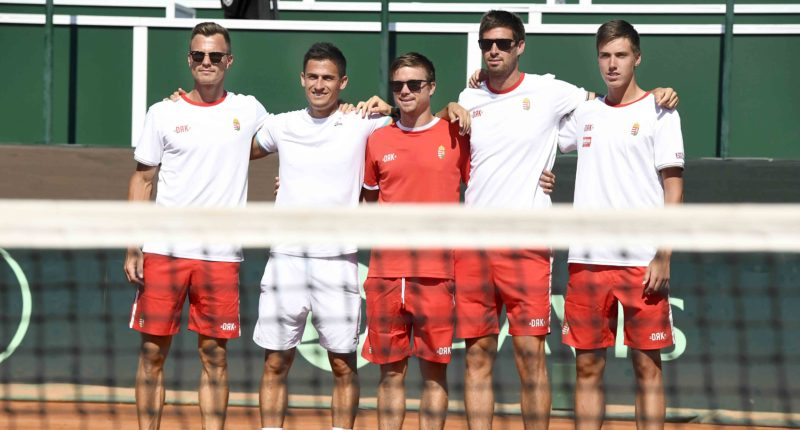 Hungarian Balazs triumphs in Hungary-Ukraine Davis Cup play-off