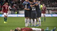 Maiden Szoboszlai goal in vain as Hungary slip up against Slovakia