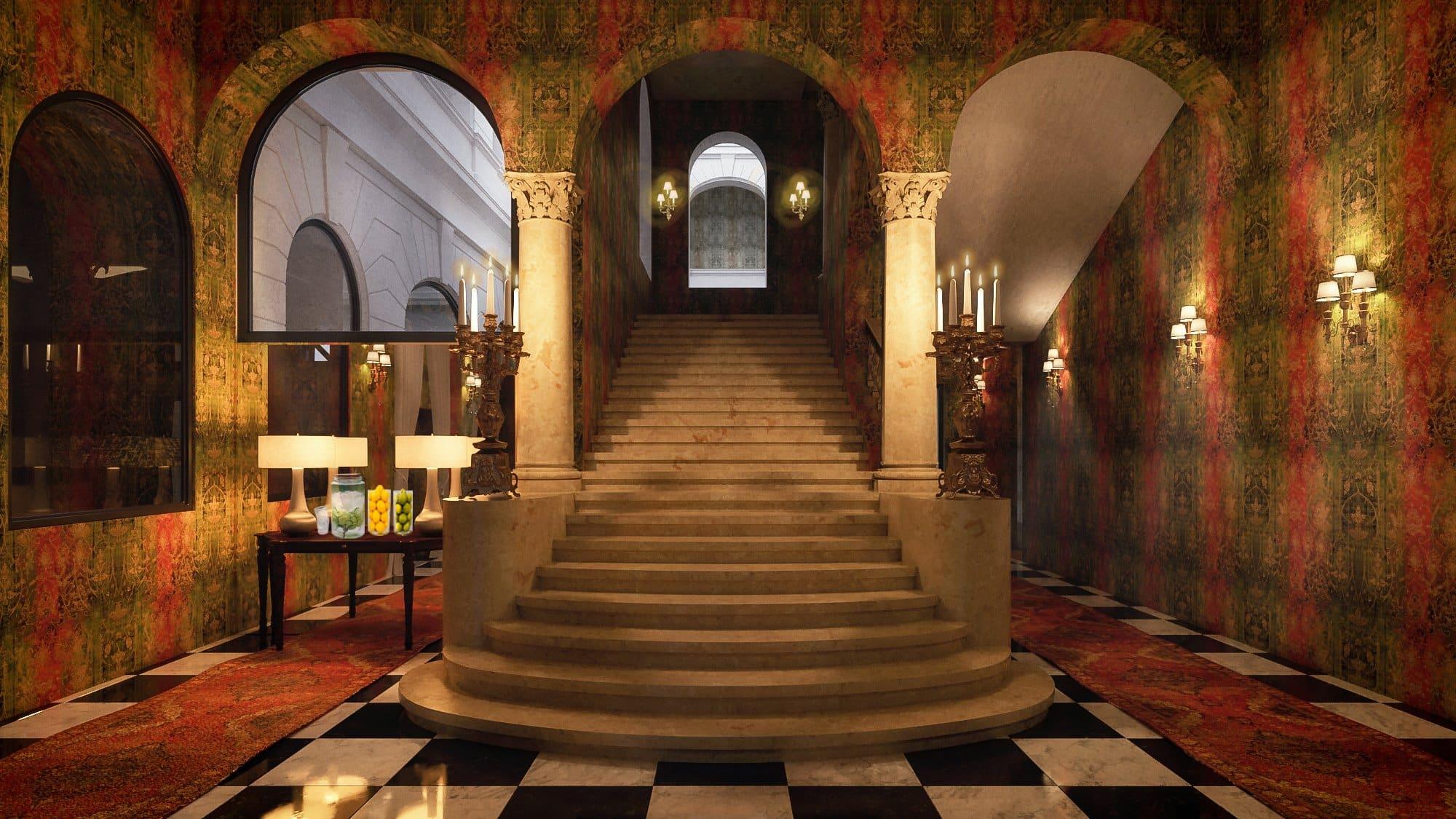 Mystery Hotel, Budapest, hotel, Hungary