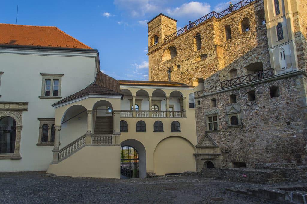 Sárospatak, castle, Hungary
