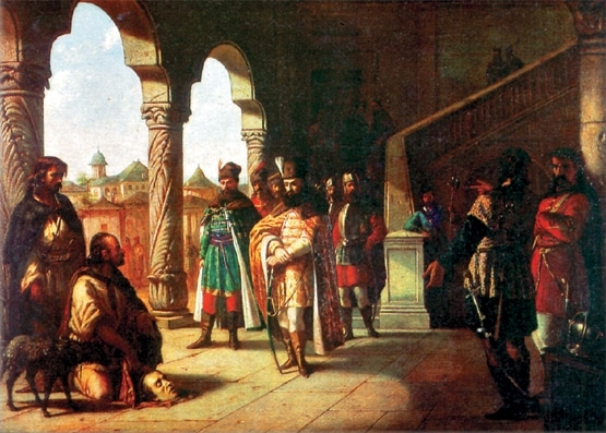 Beheading András Báthory