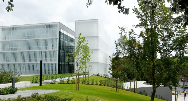 The new campus of Moholy-Nagy University of Art and Design Budapest (MOME)