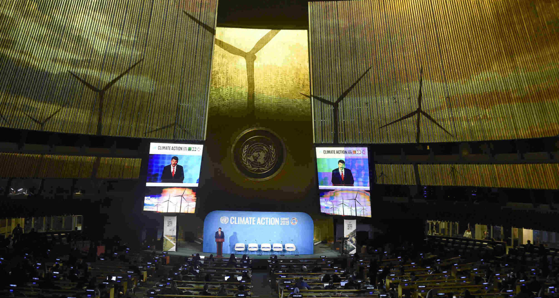 United Nations Climate Action Summit in New York
