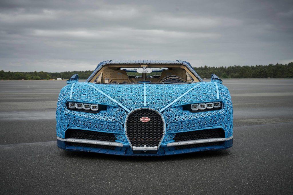 Bugatti, car, Budapest, Lego