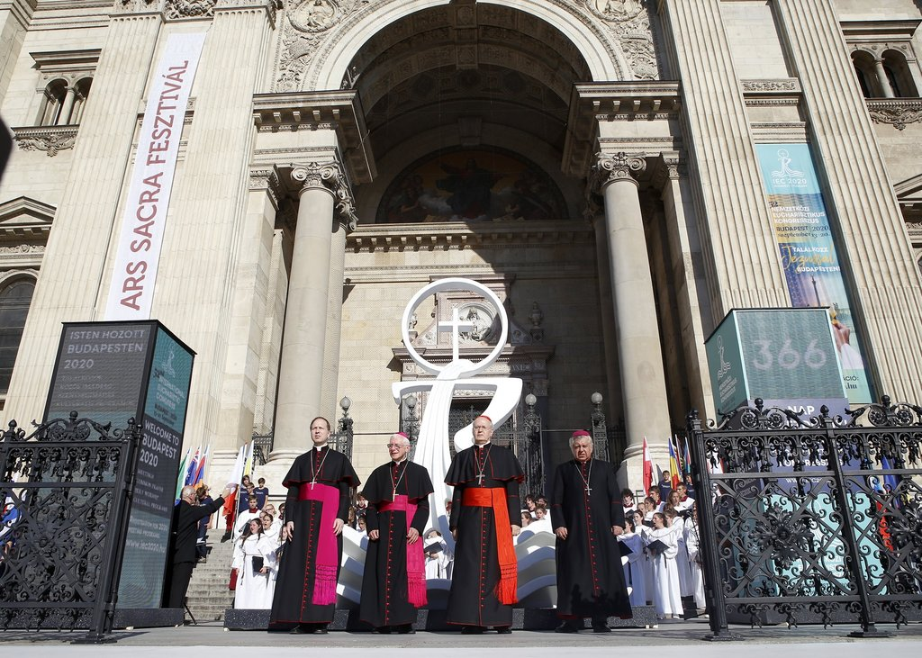 Pope Francis highlights importance of Budapest International Eucharistic Congress
