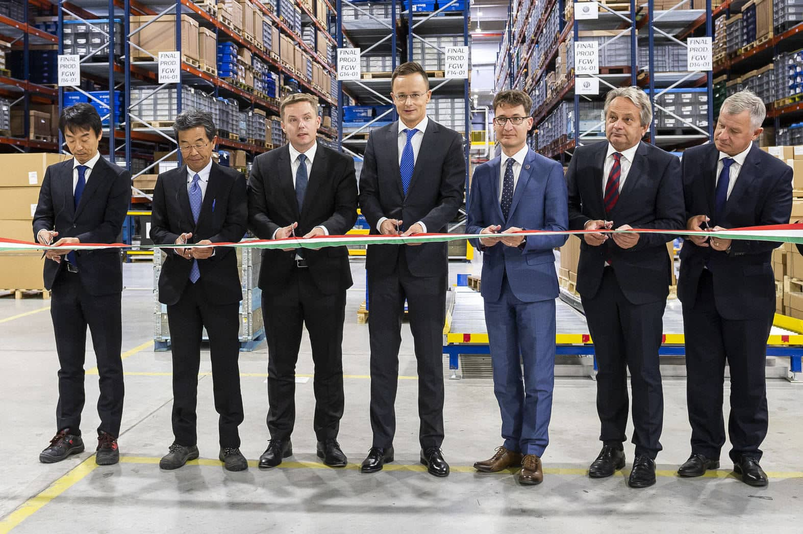Japan's Denso inaugurates EUR 55m logistics centre in Central Hungary