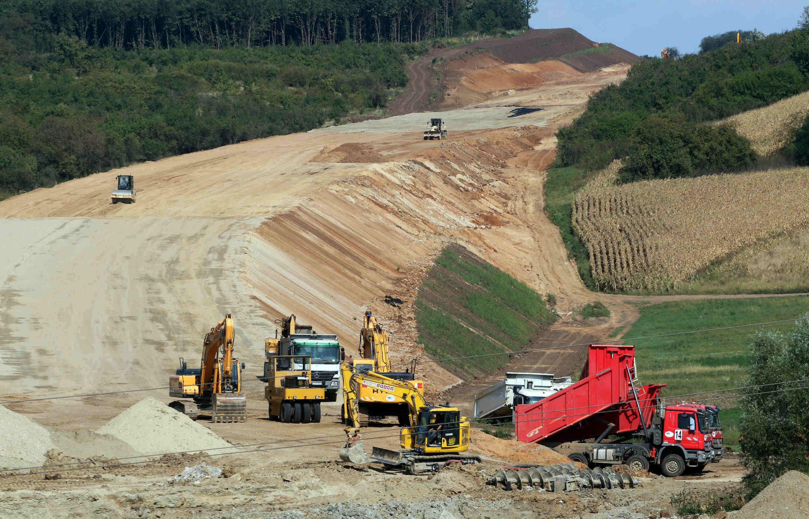 m30 highway construction