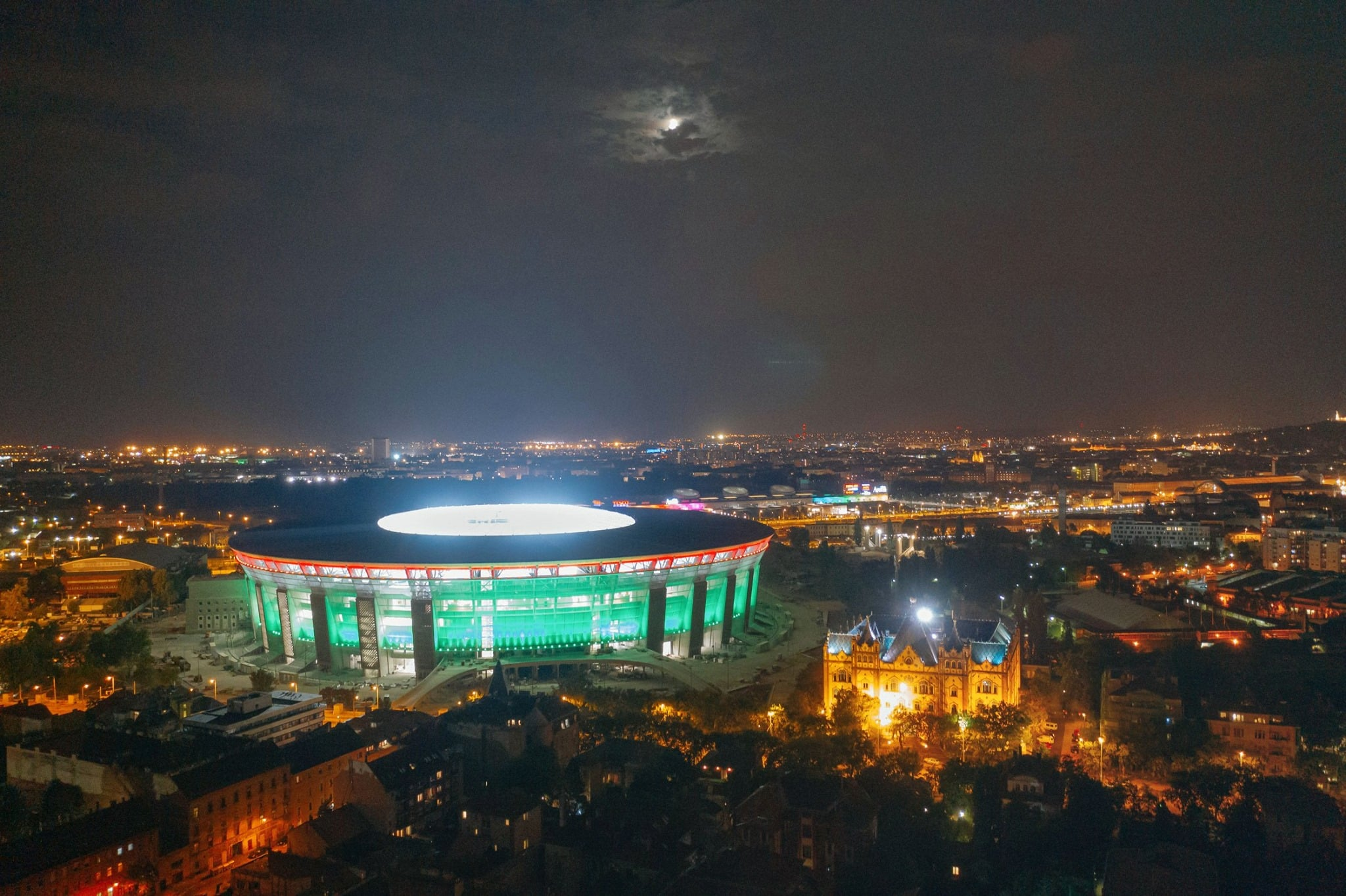 new puskás stadium