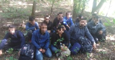 police Hungary migration