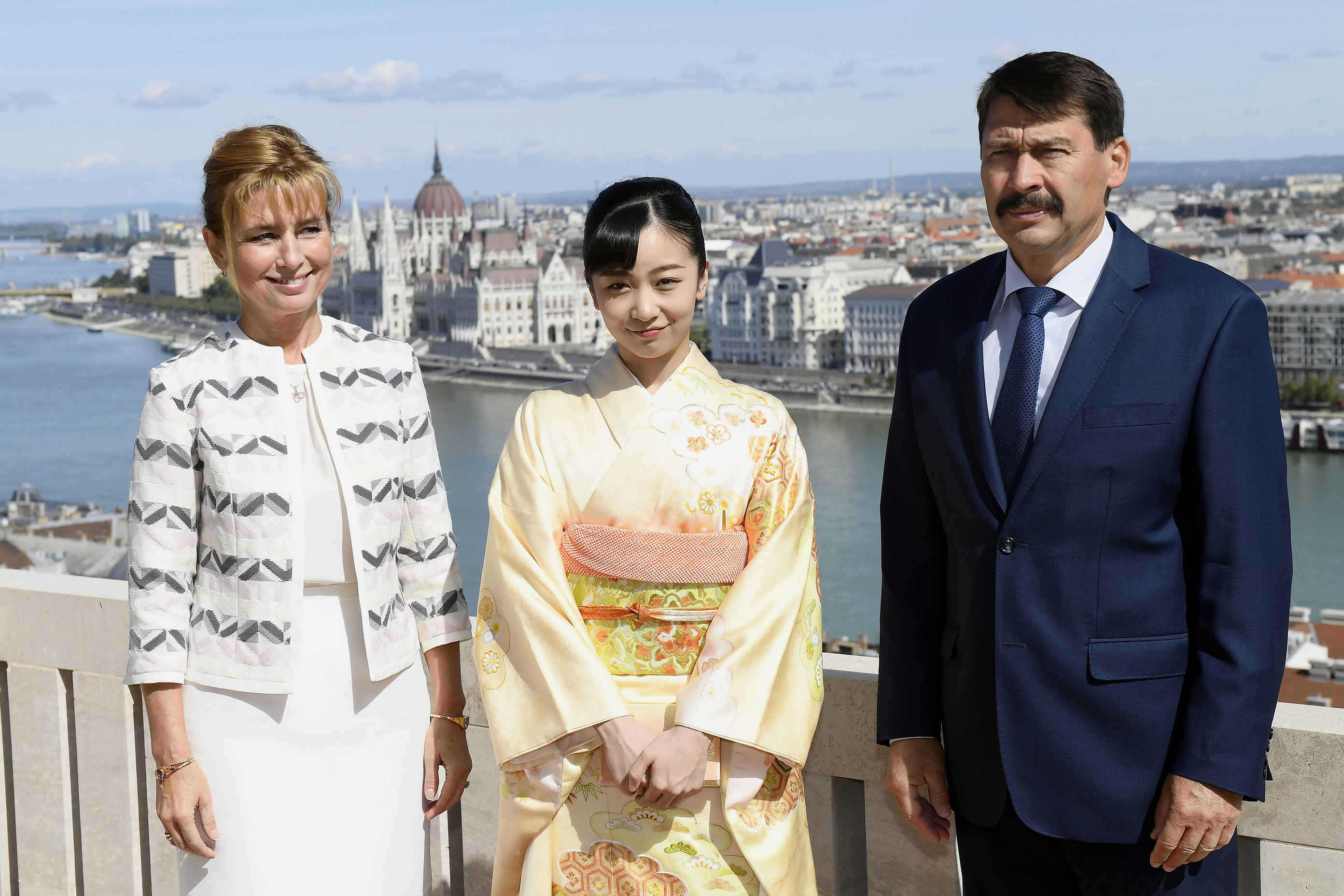 Japan's Princess Kako's visit to Hungary in photos