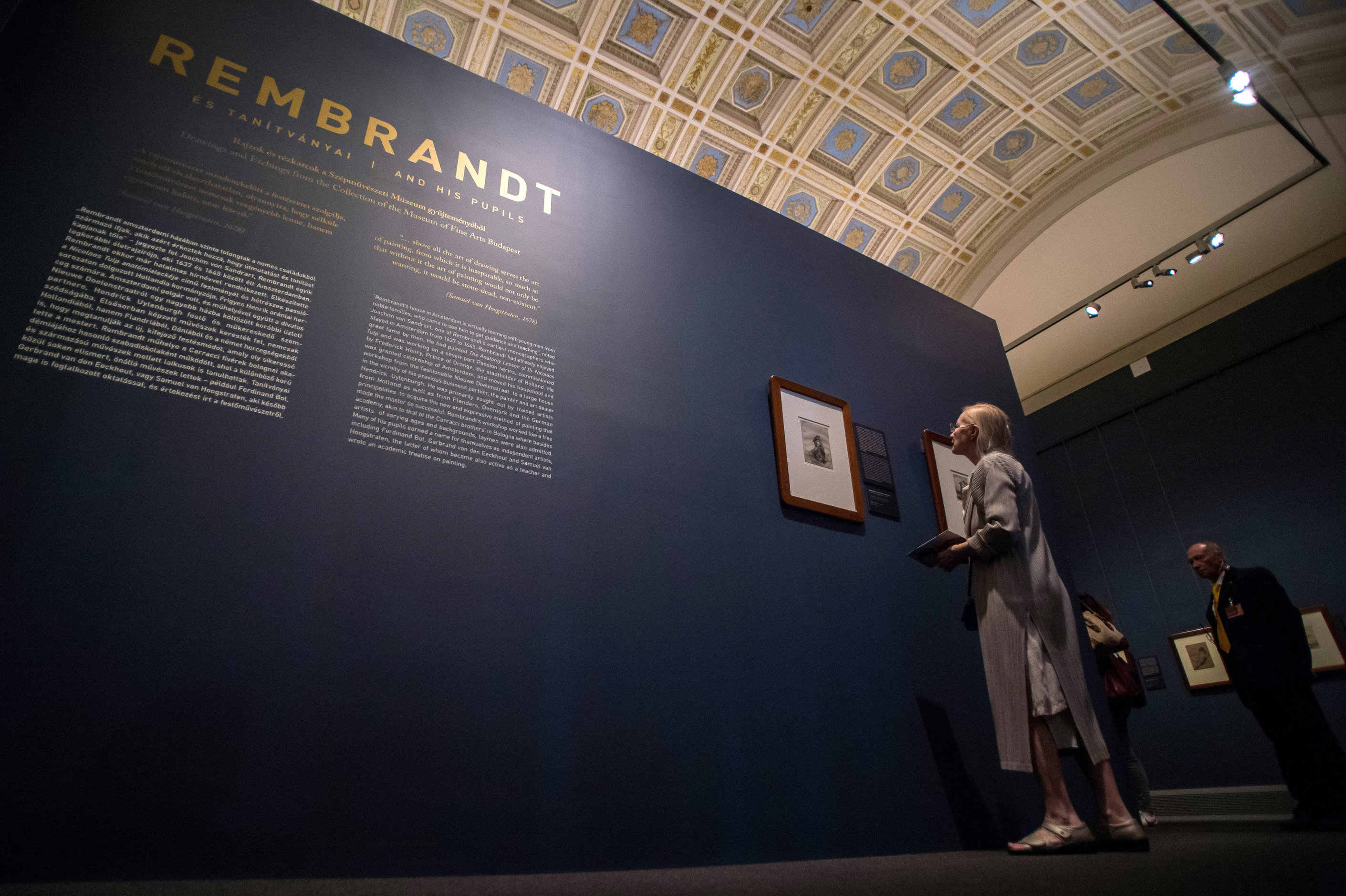 'Rembrandt and his pupils' exhibition opens at Museum of Fine Arts