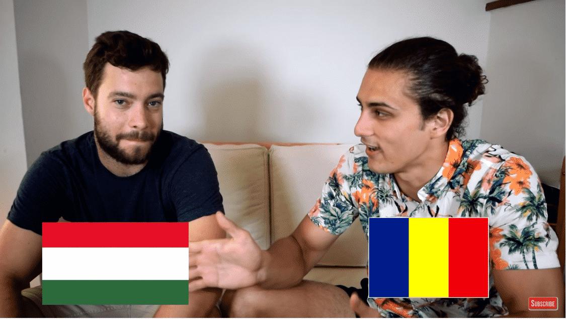 Language challenge: Hungarian vs. Romanian - VIDEO