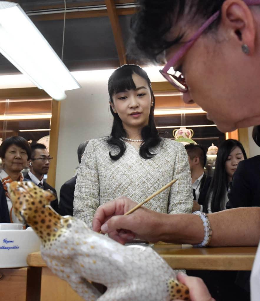 Hungary Japan princess