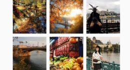 Autumn Budapest Instagram