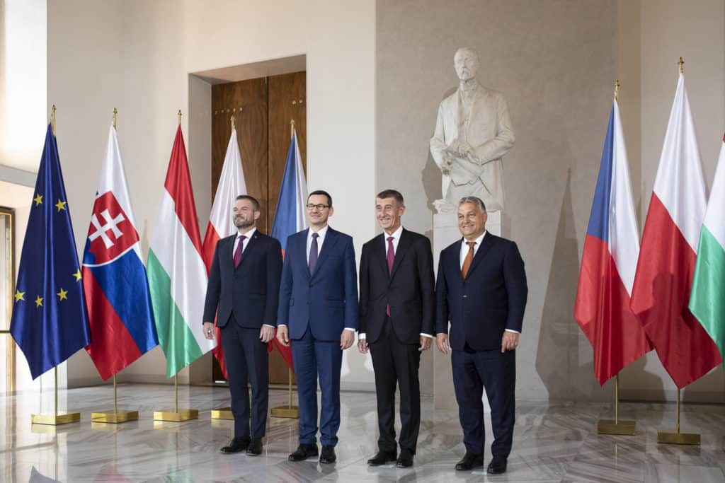 visegrád four meeting