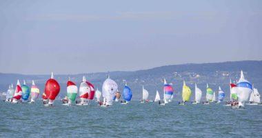 Lake Balaton sailing