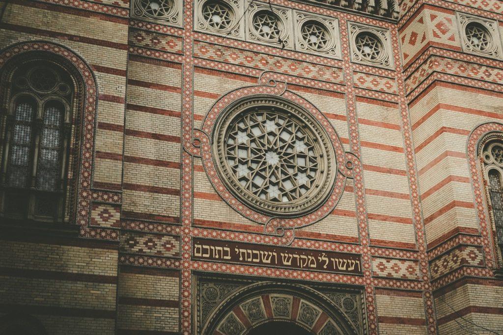synagogue, Budapest, Hungary