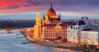 Budapest, Hungary, Parliament, building
