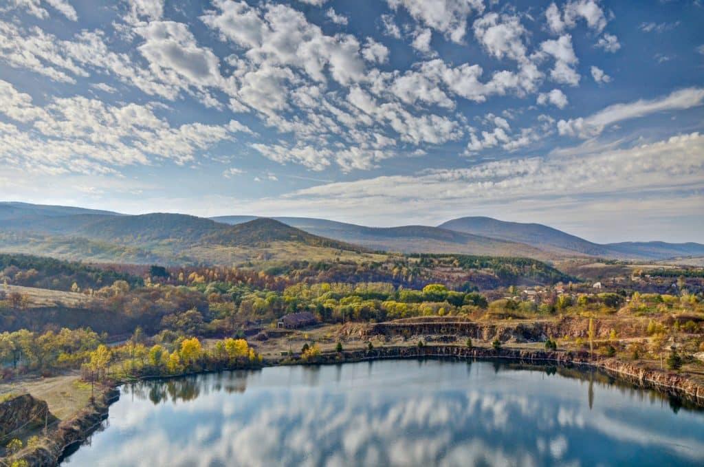 Erdőbénye, lake, Hungary, treasure