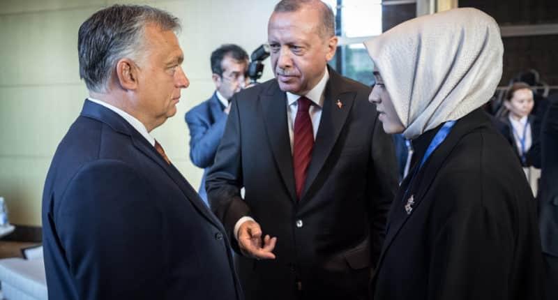 Erdogan, PM Orbán, Hungary, Budapest