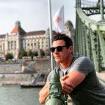 Luke Evans in Budapest