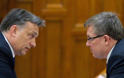 Matolcsy and Orbán