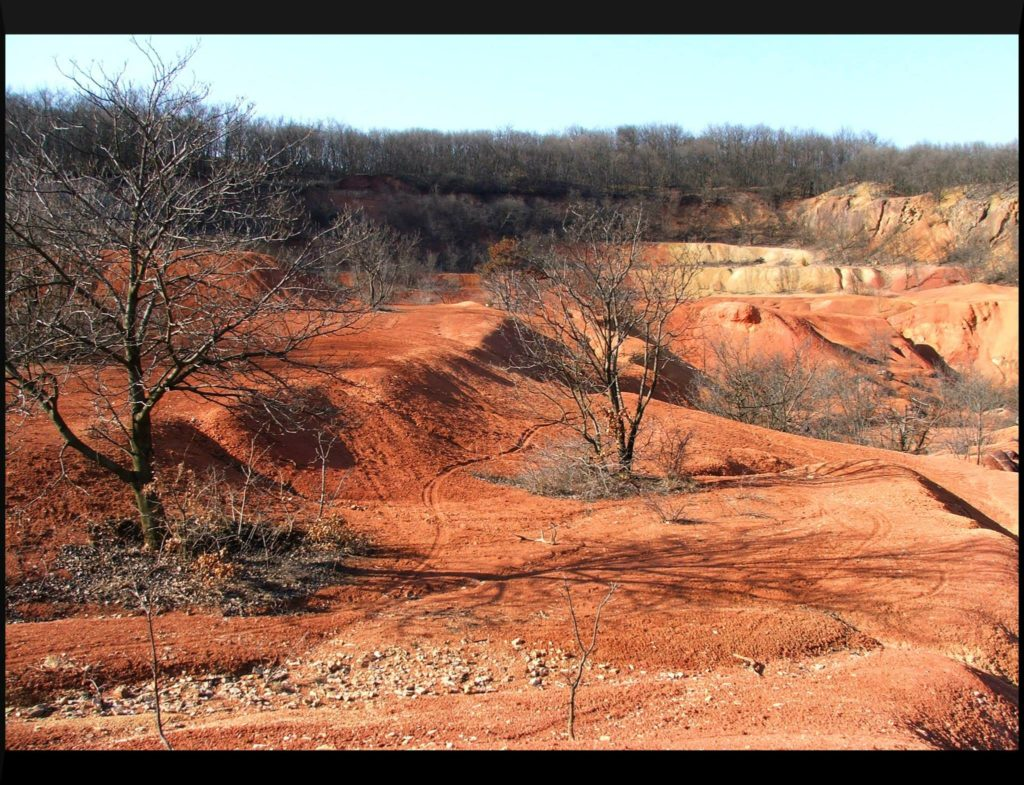 Red soil Vértes