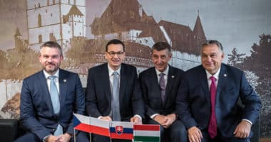 visegrád four leaders