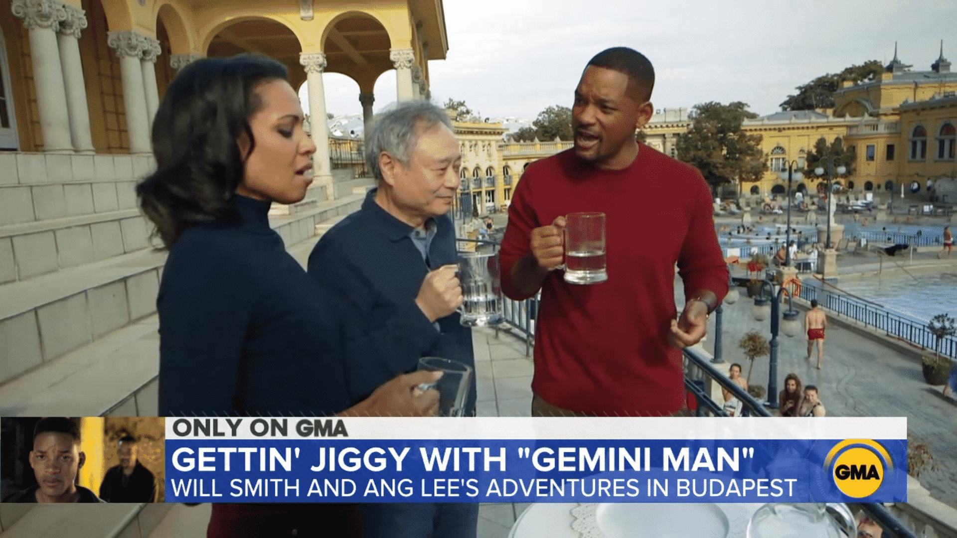 Will Smith, Széchenyi Thermal Bath, Gemini Man, Budapest, Hungary