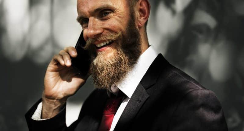 beard man business