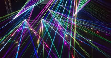 laser colourful