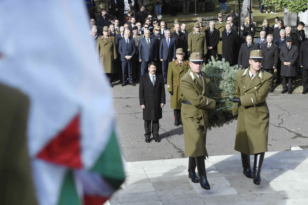 President addresses commemorations of 1849 Arad martyrs