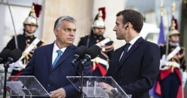 hungary france orbán macron
