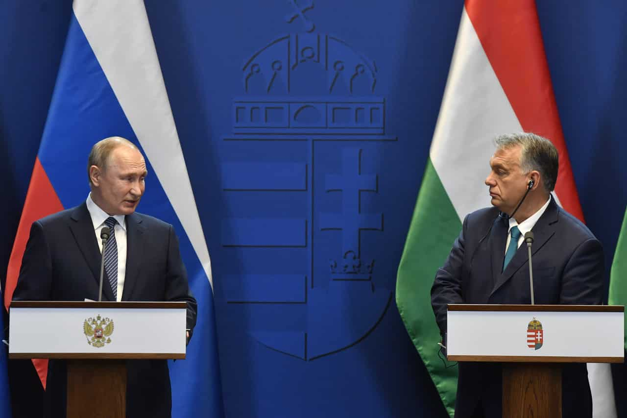 putin orbán budapest